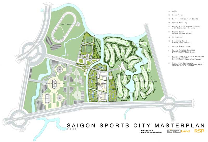 quy hoach saigon sports city